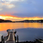 Sunset over Cutler Harbor (Photo by Bill Kitchen)
