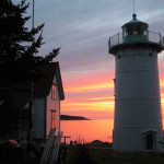 Sunrise at Little River Light (Photo by Lee Leighton)