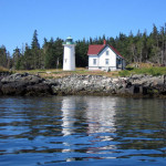 Little River Lighthouse view from the water