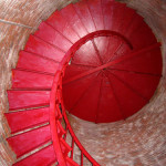 Lighthouse stairs (Photo by Bob Trapani, Jr.)