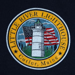 Little River Lighthouse Sweatshirt Detail