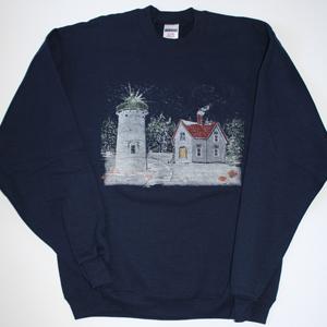 Winter at Little River Light Sweatshirt
